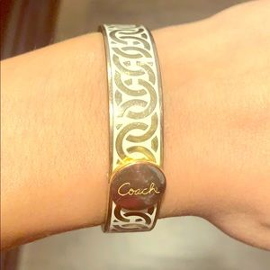 Coach Gold Bangle Bracelet